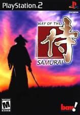 Way of the Samurai PS2 New Playstation 2