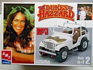 AMT 1:25 Scale Dukes of Hazzard Daisy's Jeep C1 Model Kit New - Kit # 31535-1HD