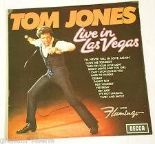 Tom Jones Live in Las Vegas vinyl LP Album