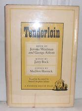 Jerome Weidman & George Abbott TENDERLOIN Musical Comedy First edition Hardcover