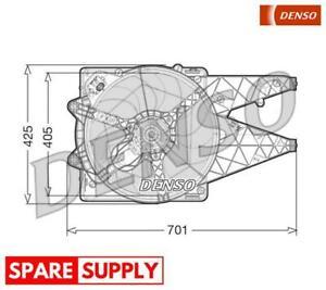 FAN, RADIATOR FOR FIAT DENSO DER09100