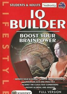 Pc Game - IQ Builder - Boost your Brainpower
