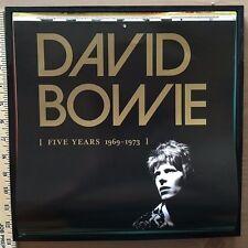David Bowie: Five Years 1969-1973 Calendar Art Framed Rare Rhino Artwork zowie~