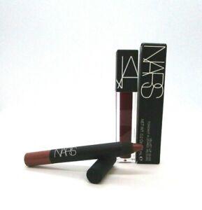 Set/2 Nars Velvet Lip Glide And Velvet Matte Lip Pencil ~