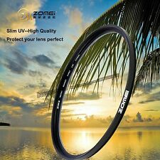 ZOMEI 72mm Slim UV filter Ultra-Violet Lens protector for Canon Nikon Camera