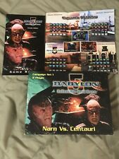babylon 5 collectible card game Gently Used. Narn Vs. Centuari