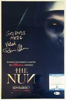BONNIE AARONS SIGNED 11x17 METALLIC PHOTO THE NUN BECKETT BAS COA 626