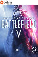 Battlefield 5 Definitive Edition - PC EA Digital Code - EN Only - Global