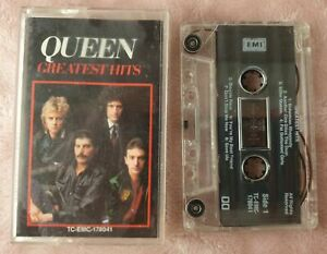 Queen – Greatest Hits - Audio Cassette Tape Album in Great Condition