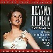 Ave Maria, Durbin, Deanna, Very Good CD