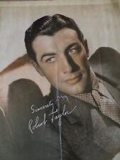 1930s ROBERT TAYLOR Movie Star Original Vintage Press Fan Photo Print 8x10 #156