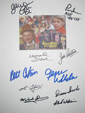 Willy Wonka & the Chocolate Factory Signed Script X10 Gene Wilder Ostrum reprint