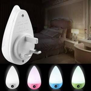 Automatic LED Child Safety Night Light Plug in Energy Saving Dusk Dawn Sensor