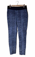 SOFT SURROUNDINGS Snakeskin Print Ankle Pants Gray Black Women's Pull On