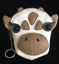 RELIC by FOSSIL Zip Coin Purse w/Key Ring Giraffe RLS9007559 NWT$28