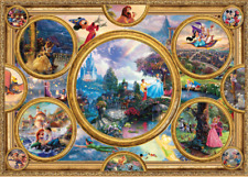 NEW! Schmidt Disney Dreams Collection by Thomas Kinkade 2000 piece jigsaw puzzle