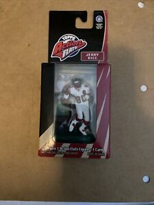 Vintage Jerry Rice HOF NFL 49ers Topps Action Flats Kickoff Edition 1998