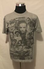 Iced out Clothing Brand Legends Of Rap Parental Advisory Sketch T Shirt Size M