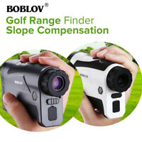 BOBLOV 6X 650Yard Golf & Hunting Rangfinder With Slope with Pinsensor Telescope