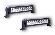 SET OF 2 HIGH POWER 12V 24V LED LIGHTS BAR SPOT LAMP OFF ROAD 4x4 VAN BOAT TRUCK