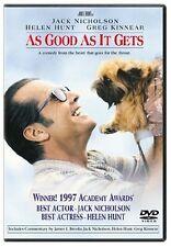 Brand New DVD As Good As It Gets Jack Nicholson Helen Hunt Greg Kinnear Cuba Goo
