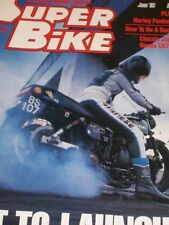 June Superbike Motorcycles Magazines