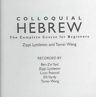 Colloquial Hebrew by Lyttleton, Zippi|Wang, Tamar (CD-Audio book, 2003)