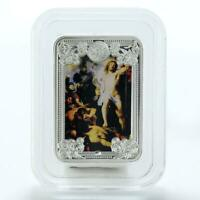 Andorra 5 diners Ressuraction of Christ The Wonders of Jesus silver coin 2013
