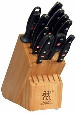 Zwilling J.A Henckels Twin Signature 11 Piece Knife Block Set 30768-000 NEW