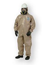 Kappler Zytron 300 Level B Chemical HazMat Coverall w Hood Large-XL Case LOT/ 6