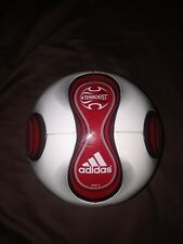 Adidas Red Teamgeist Soccer Ball Football Rare with Box 2006 2007 Size 5