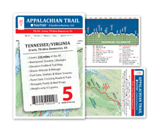 Appalachian Trail Map AT-5 Erwin To Damascas VA AT Pocket Profile