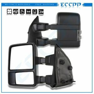 for 2001-2005 Ford Excursion L&R Pair Power Heated Towing Mirrors ...