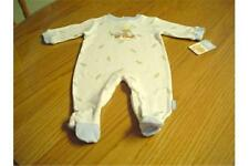 NEW WT PRECIOUS MOMENTS SAY PEAS SLEEPER INFANT BOYS 3/6 MONTH 100% COTTON