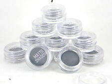 48x Matte Glittery Silver Eye Shadow Wholesale Job Lot Cosmetic Party Bag Items
