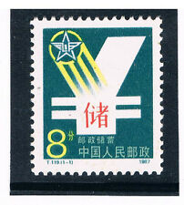 CHINA 1987 Postal Saving Bank