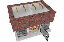 BrickWood Box - Lower Door. 304G/Ss - Pizza Oven Door • Meat Smoker Door