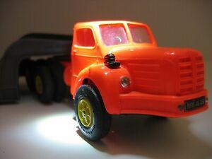Norev tracteur TBO 15 Berliet avec semi remorque titan transports spéciaux