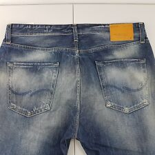 Jack & Jones Denim Jeans Mens Erik Anti Fit Distress Button Fly Size 36 | L 32