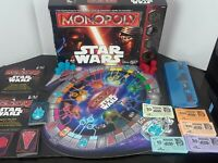 Star Wars Monopoly (Canadian Bilingual Edition) by Hasboro (Complete)