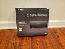 D-Link Unified Services Router 8-Port 10/100 Wired Router DSR-150