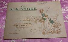 1939 VECCHIO E RARO ALBUM DI FIGURINE PROD. E.D & H.O WILLS SEA SHORE COMPLETO