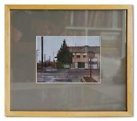 Original Oil Painting Urban Plein Air Signed Art Modern Framed