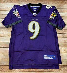 Reebok BALTIMORE RAVENS Jersey Steve McNair 2006-2007 NFL Football Purple MEDIUM