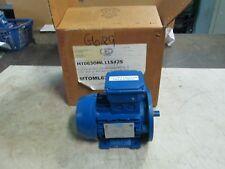 CEG Motor Type: MT0ML63B4/2B35 Frame: 63 0.25 HP 230/460V 60 Hz 3 Ph (NIB)