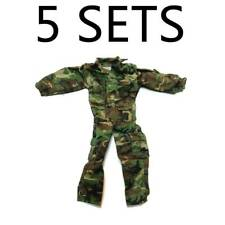 "Lot 5 Camouflage Airborne 21ST CENTURY uniform For 12"" DRAGON GI JOE  figure #K1"