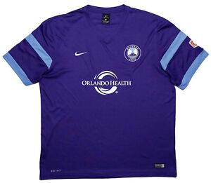NIKE Orlando Pride NWSL Soccer Jersey Purple XL