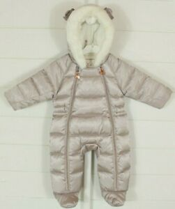 Ted Baker Snow Suit 0-3 Month Rose Gold  Autumn Winter Christmas Warm Cosy Soft