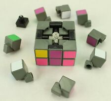Vintage Rubiks Cube 2 x 2 x 2 Green Blue White Yellow Pink (178)