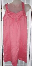 New with Tag Atmosphere Primark pink ramie dress Size UK 8